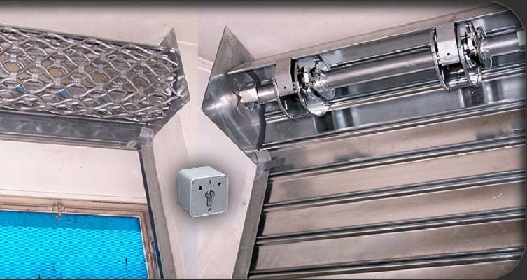 Moteur de rideau métallique : comment en changer ?