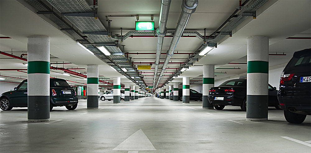 remorquage parking souterrain