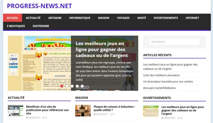 site de communiqués de presse