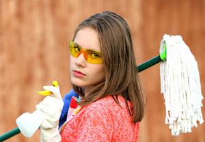 Les services d'une femme de ménage à domicile