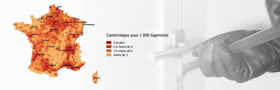 L'insécurité en France: état des lieux des cambriolages en 2017