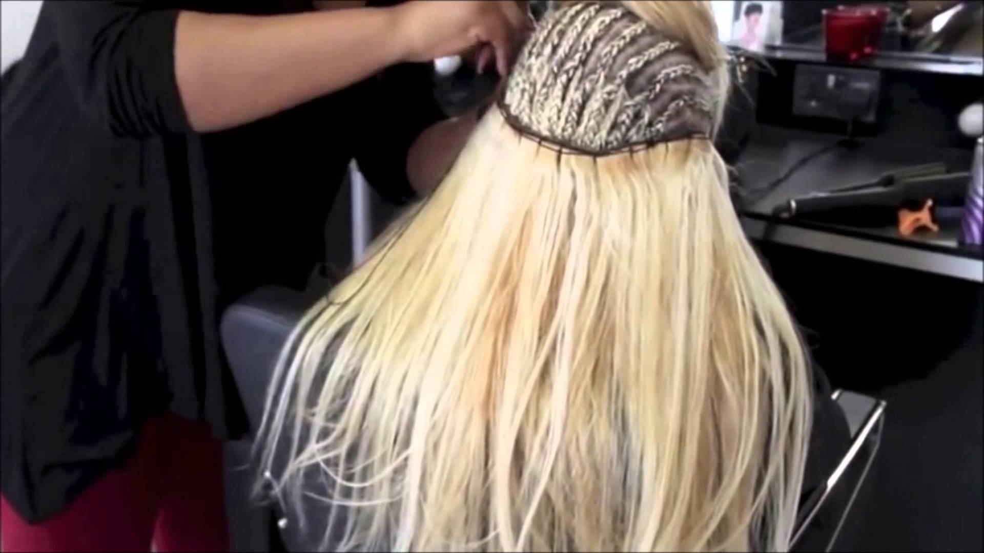 Extension keratine cheveux court
