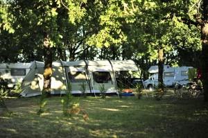 camping avec piscine à Payrac dans le Lot