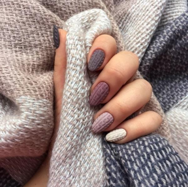 Manucure à la mode automne,hiver 2019,2020 tendances et