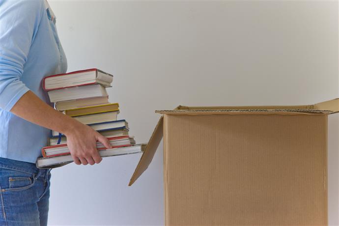 Comment emballer et transporter des livres lors de déménagement