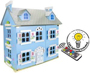 Éclairage maison de poupée