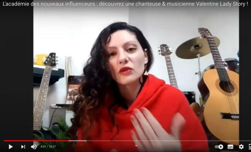 L'interview de Valentine pour l'académie des nouveaux influenceurs
